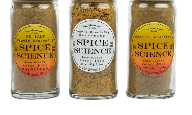 ADDING SPICES AND HERBS TO FOOD